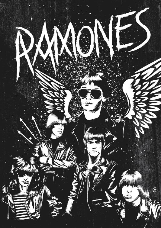 George Manta - RAMONES fanzine TMDG copy