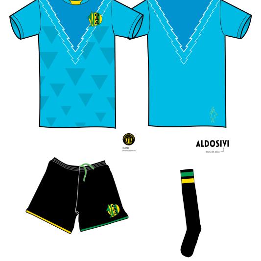 Equipo ARQUERO Aldosivi 2011 - George Manta