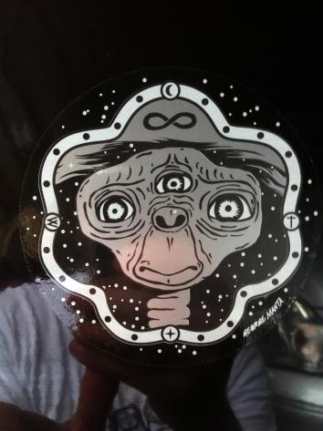 sticker ET 1