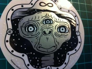 sticker ET 2