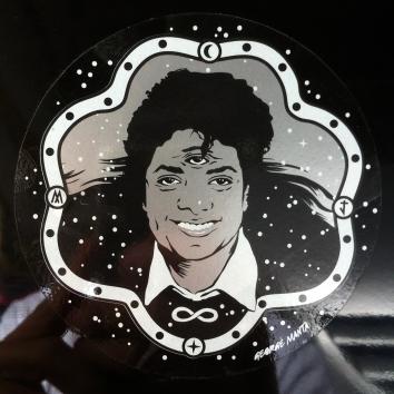sticker MJ 1