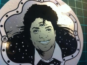 sticker MJ 3