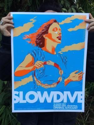 slowdive-screen-print-poster-george-manta